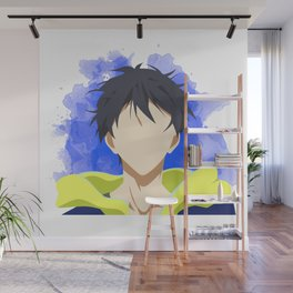 Free! Minimalist (Haru) Wall Mural