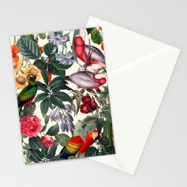 Floral and Birds XXXIX Stationery Cards