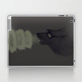 Huff and Puff Laptop & iPad Skin
