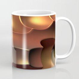 Copper Toned Coffee Mug