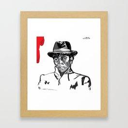 Enzo the Baker Framed Art Print