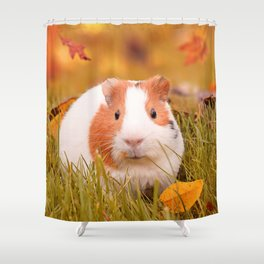 Autumn Cutie Shower Curtain