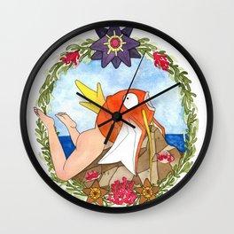 Poor Unfortunate Soul Wall Clock