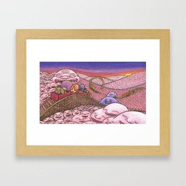 Mr. Joy  Coaster Framed Art Print