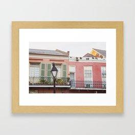 New Orleans Golden Hour in the Quarter Framed Art Print
