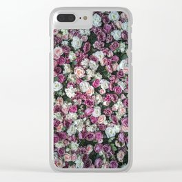 Flower carpet Clear iPhone Case