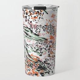 Colorful Animal Skin Travel Mug