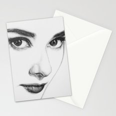 Audrey Hepburn (minimal) Stationery Cards