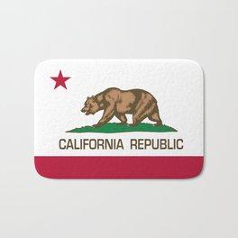 California Republic Flag - Bear Flag Bath Mat