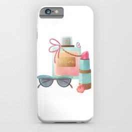 Beauty and Glam iPhone Case