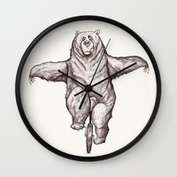 balance Wall Clocks featuring Balance by Dave Mottram