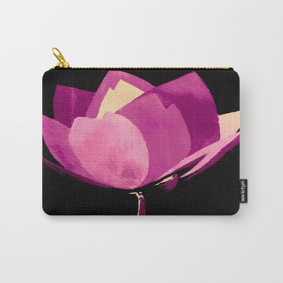 Pretty in Purple Carry-All Pouch