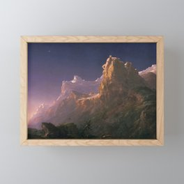 Prometheus Bound - Thomas Cole Framed Mini Art Print