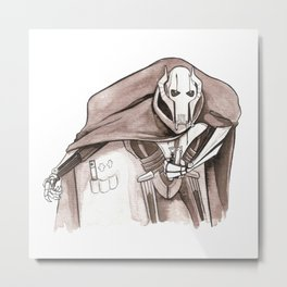 General Grievous' Lightsaber Collection Metal Print