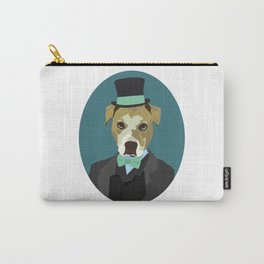 Gentleman Pup. Carry-All Pouch