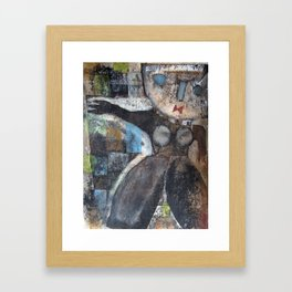 Tschuss Framed Art Print