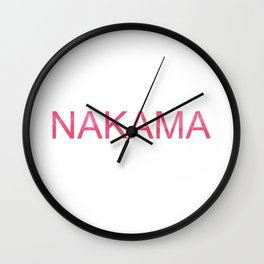 Nakama Wall Clock