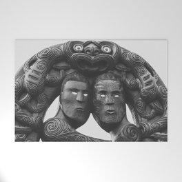 Maori Tribal Totem Welcome Mat