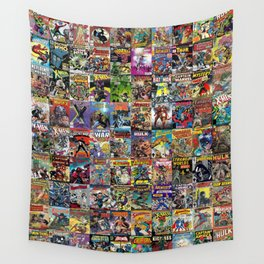 Comic Books Wall Tapestry