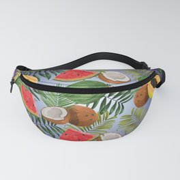 Tropical fruits 4 Fanny Pack