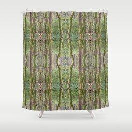 WARM AUTUMN RAINFOREST Shower Curtain