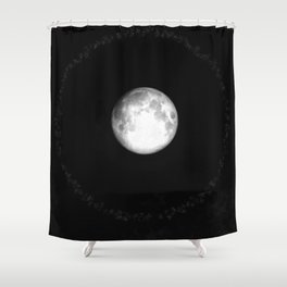 Moon Halo (Cloud series #17) Shower Curtain