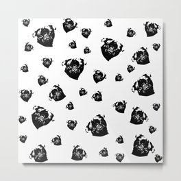 Pug Dog Gifts Metal Print