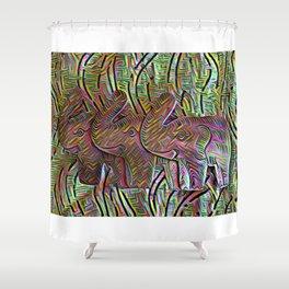 TemboTatu 2 Shower Curtain