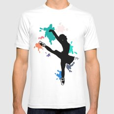 Ballerina White Mens Fitted Tee MEDIUM
