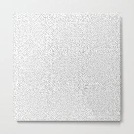 Random Crosses Metal Print