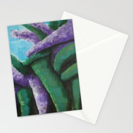 Buddleia abstract Stationery Cards