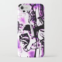 rock n roll iPhone & iPod Cases featuring Rock N' Roll Gypsy by Jussi Lovewell