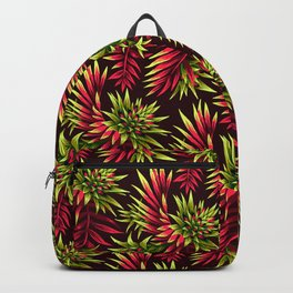 Aechmea Fasciata - Green/Pink Backpack