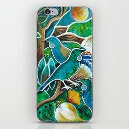 Green Life iPhone Skin