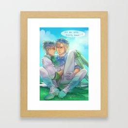 Too thin Framed Art Print