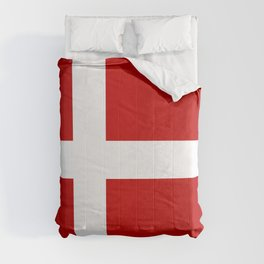 Flag of Denmark Comforters