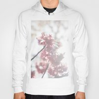 cherry blossom Hoodies featuring Cherry Blossom by Ben Nguyen