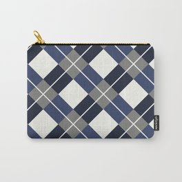 Squared Pattern 3 Carry-All Pouch