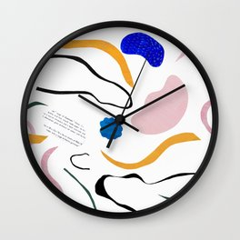 wave notation Wall Clock