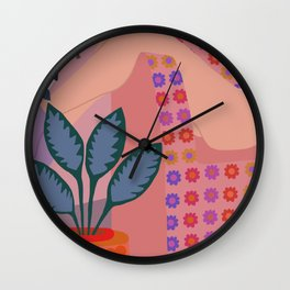 Self Care Is Important Wall Clock