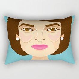 Jackie Onassis Rectangular Pillow