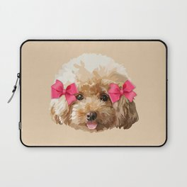 Baby Poodle Laptop Sleeve