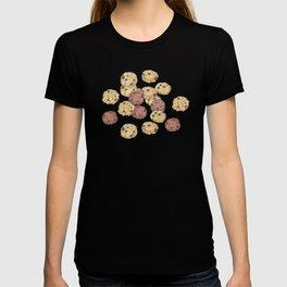 cookies_pattern_light yellow T-shirt