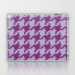 Houndstooth - Purple Laptop & iPad Skin