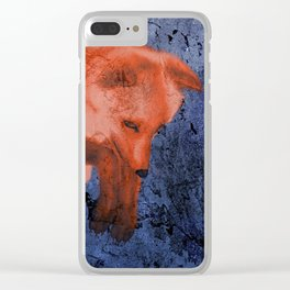 Night hunter Clear iPhone Case