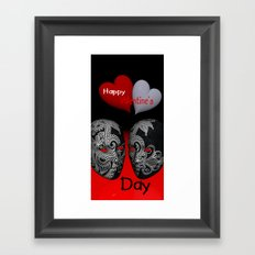 Happy Valentine's Day! -3- Framed Art Print