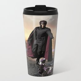 X-Men: Sentinel Diorama Series III (Magneto) Metal Travel Mug