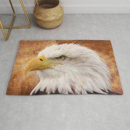 Bald Eagle Portrait Rug