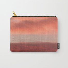Orange Clouds InThe Sky #decor #society6 #homedecor #buyart Carry-All Pouch