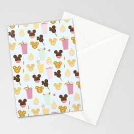 Magic Food - Blue Stationery Cards